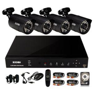 Überwachungskamera mit Aufzeichnung Set